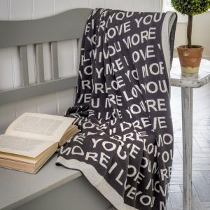 Luxury Love You Throw